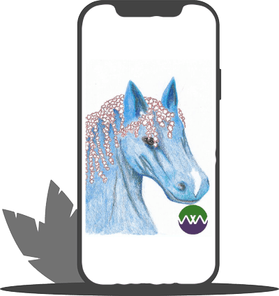 WYW horse iPhone